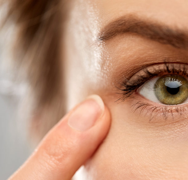 Für gesunde Augen ist auch die Ernährung wichtig.